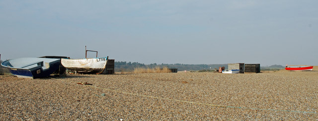 Boats at Dunwich