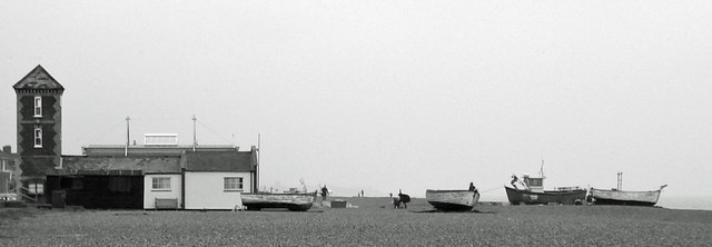 Boats and Lifeboat Station, Aldeburgh