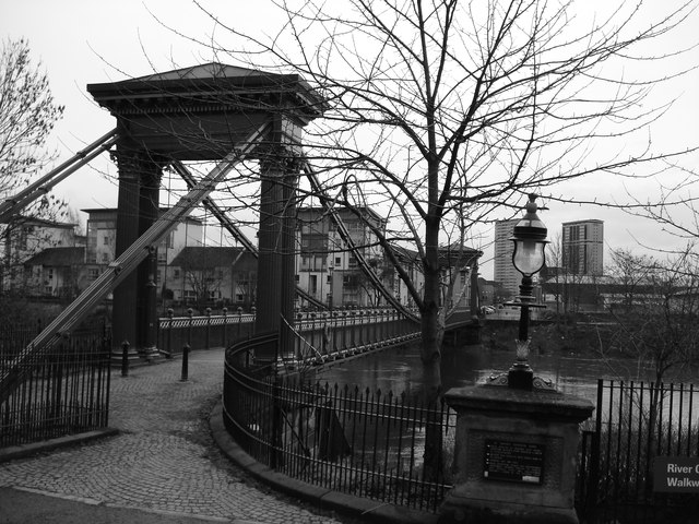 St Andrew's Suspension Bridge, Glasgow