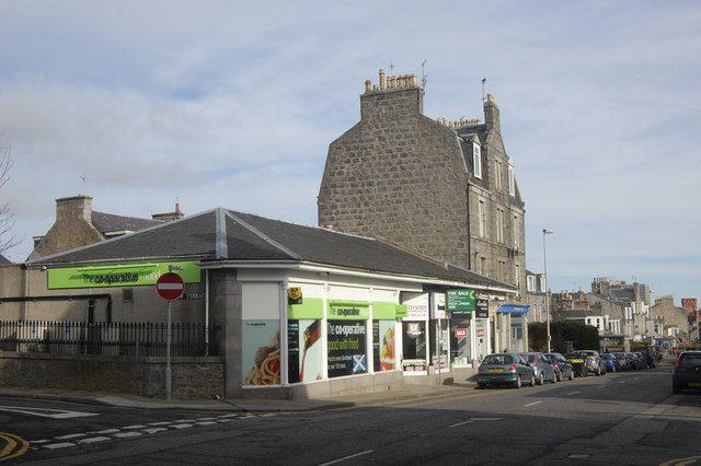 The Co-Op, Rosemount Place, Aberdeen