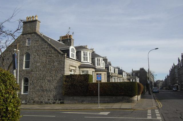 Granite villas, Rosemount Place, Aberdeen