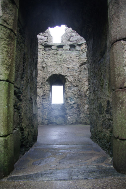 Chamber in the south-east corner of Muness Castle