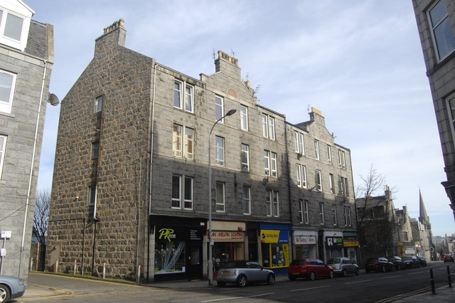 Granite block, Rosemount Place, Aberdeen