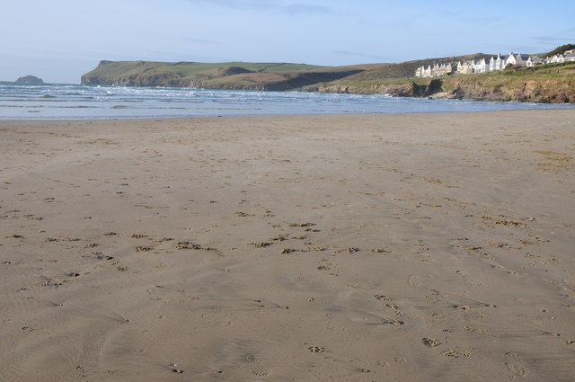 Hayle Bay and Pentire Point