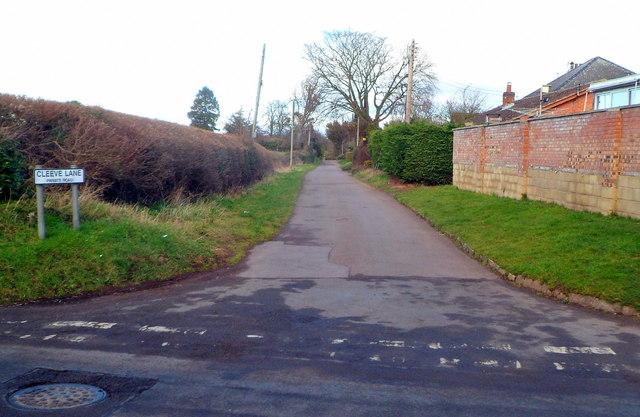 Cleeve Lane, Ross-on-Wye