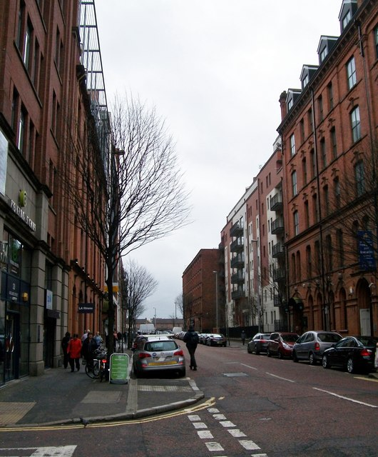 The southern end of Adelaide Street