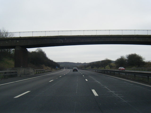 M6 south near Craddocks Moss Farm