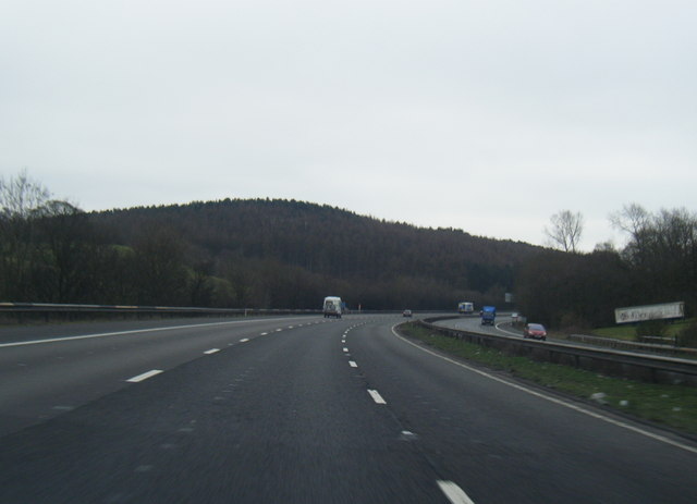 M6 south near Bullthorns Wood