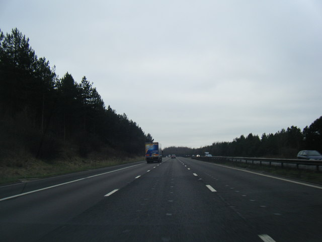 M6 south at Waltons Wood