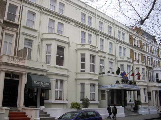 Mowbray Court Hotel, Penywern Road, Earls Court