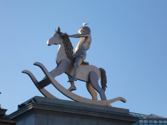 The Fourth Plinth, Trafalgar Square, London SW1