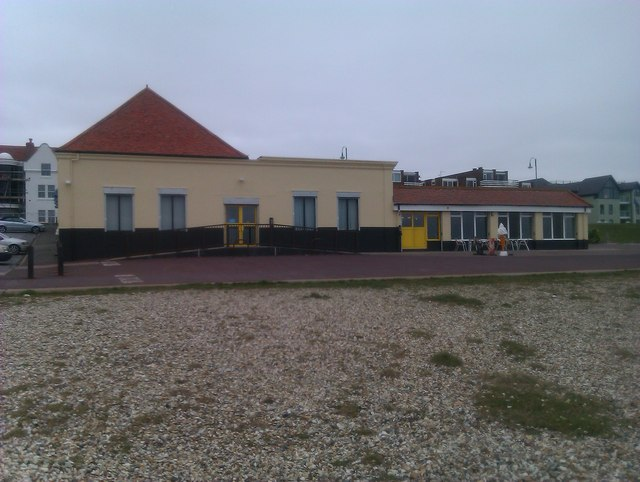 Converted railway station: Lee on Solent