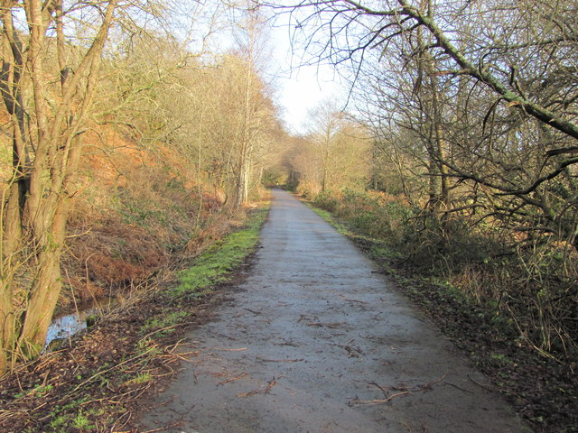 Celtic Trail between Brynmenyn and Blackmill