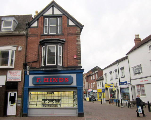 Bromsgrove High Street  Bromsgrove Business Centre Ltd & F Hinds