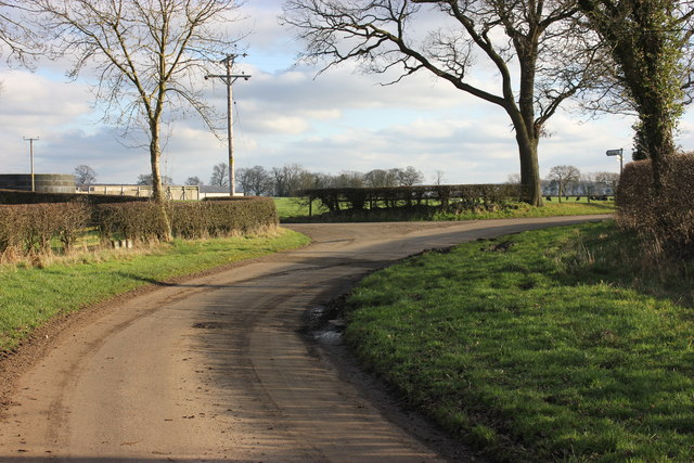Hodgehill Lane/Davenport Lane junction, Marton