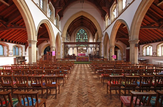 St Michael & All Angels, Abbey Wood Road, Abbey Wood - East end