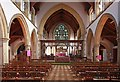 TQ4778 : St Michael & All Angels, Abbey Wood Road, Abbey Wood - East end by John Salmon