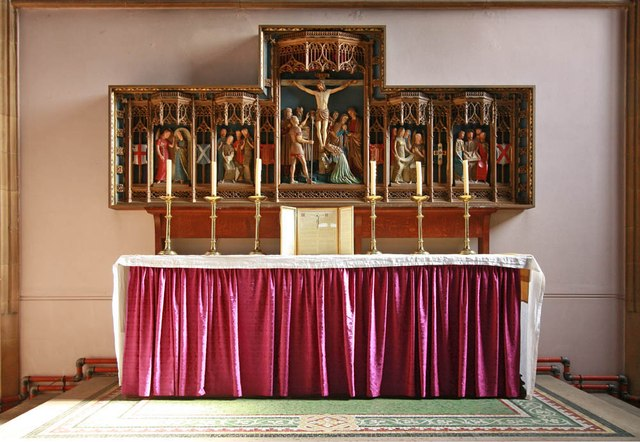 St Michael & All Saints, Abbey Wood Road, Abbey Wood - Reredos