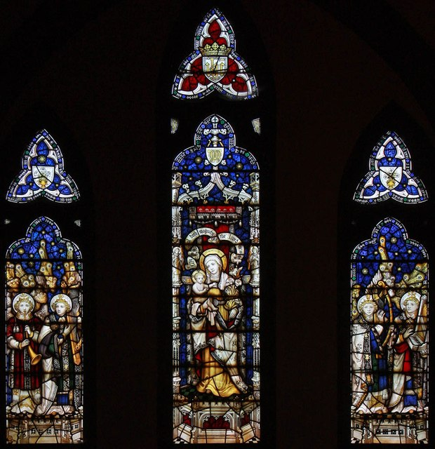 St Michael & All Saints, Abbey Wood Road, Abbey Wood - Stained glass window