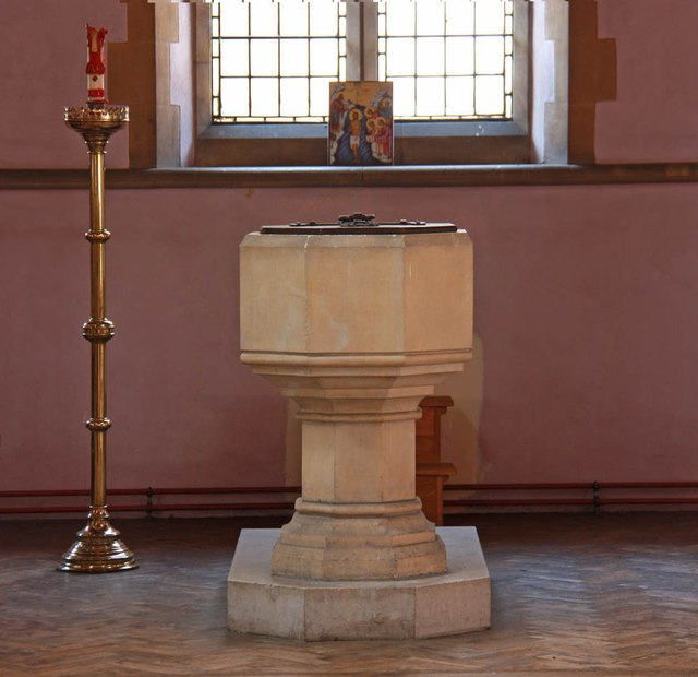St Michael & All Angels, Abbey Wood Road, Abbey Road - Font