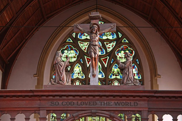 St Michael & All Angels, Abbey Wood Road, Abbey Road - Rood