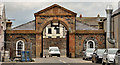 C8432 : The Market Yard, Coleraine by Albert Bridge