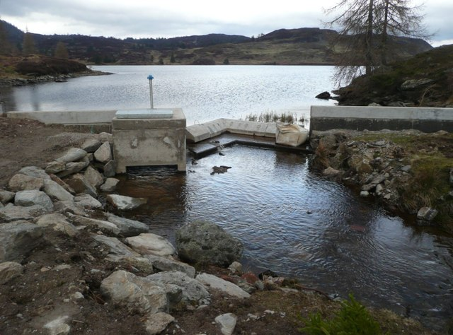 Increasing the volume of water stored in Loch Ordie
