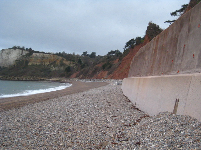 The western end of Seaton Beach