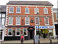 SO9570 : Bromsgrove High Street  The Red Lion &amp; Blunts Shoes by Roy Hughes