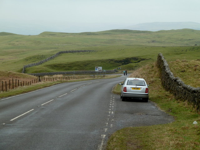 Road below Mam Tor