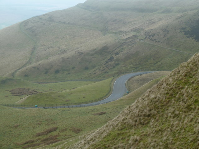 Northern slopes of Rushup Edge and Mam Tor