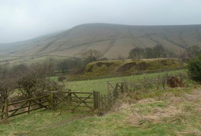 View from the footpath to Dalehead