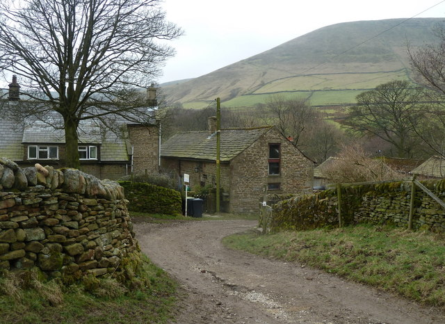 Farm buildings at Upper Booth