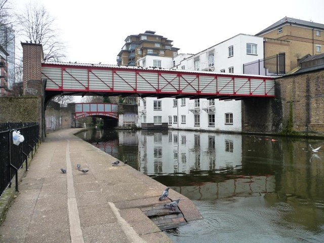Bridges across the Paddington Branch