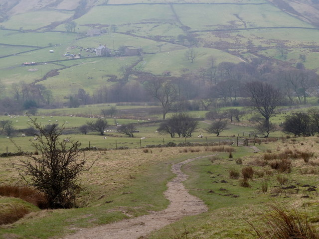 Pennine Way and upper Edale