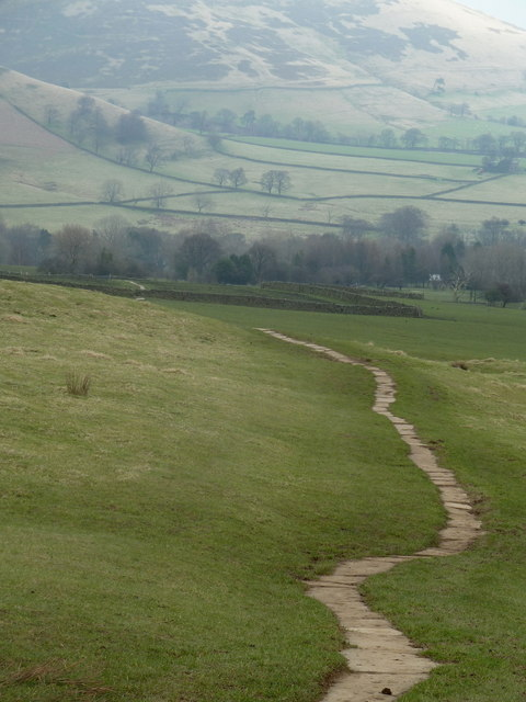 Pennine Way towards Grindsbrook Booth