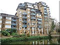 TQ2581 : Flats on Admiral Walk by Christine Johnstone