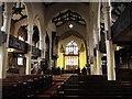 SE1416 : Interior of St Peter's church by Stephen Craven