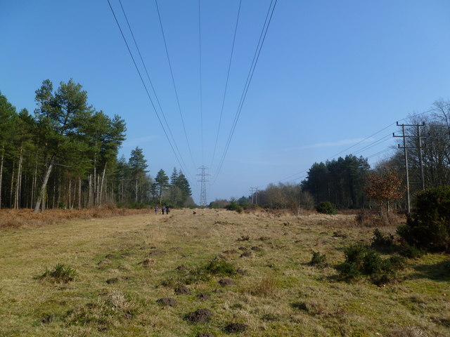 Hethfelton, power lines