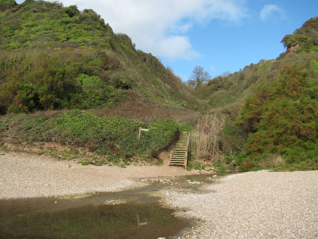 Steps from Weston Mouth Beach