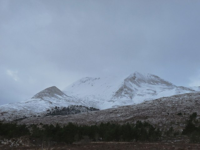 The foothills of Beinn Eighe