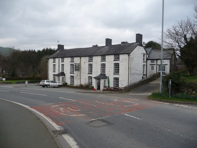 The Wynnstay Arms in Llanbrynmair