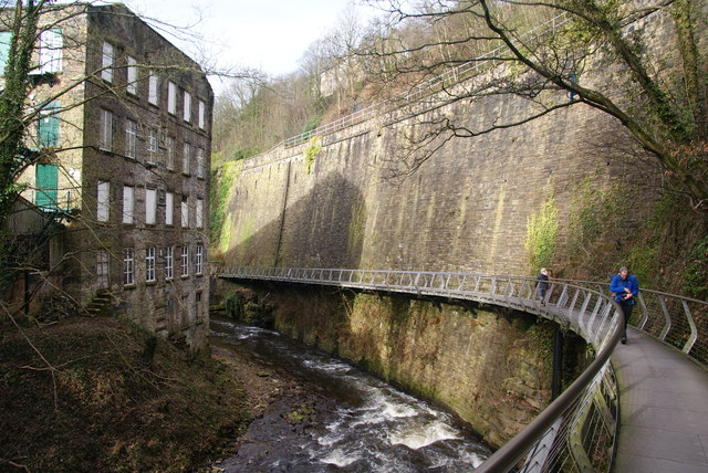 torr vale mill and the millennium     u00a9 bill boaden cc 2 0    geograph britain and ireland