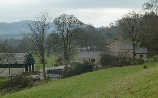 Oaker Farm from the north