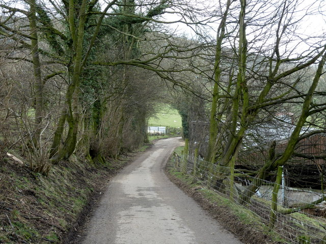 Lane to Oaker Farm