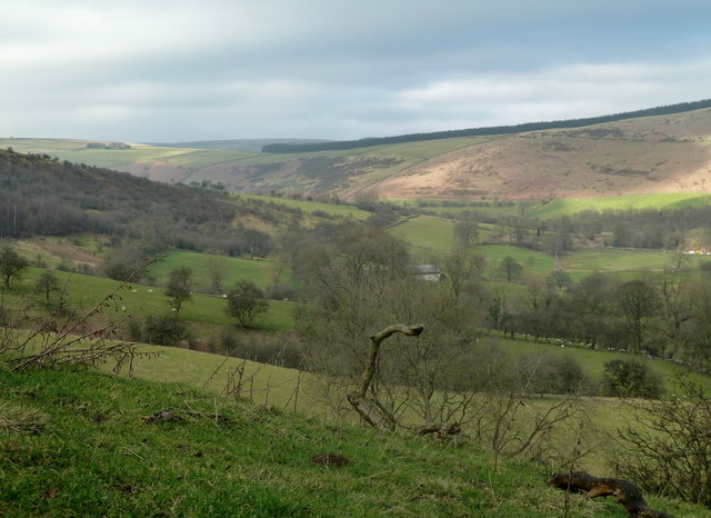 Valley view from Losehill End