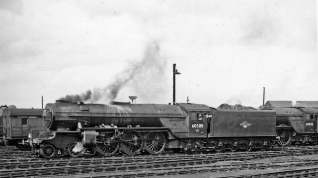 A2/2 Pacific in York Locomotive Yard