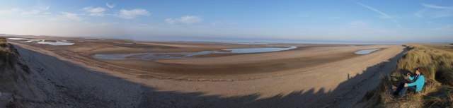 Burnham Harbour panorama