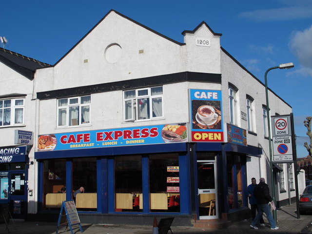 Cafe Express, High Road / Brenthurst Road, NW10