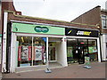 SO9670 : Bromsgrove High Street  Specsavers &amp; Subway by Roy Hughes